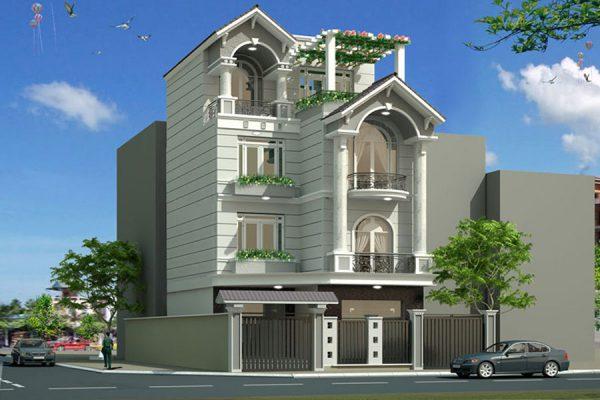 Thiết kế, thi công nhà phố, biệt thự