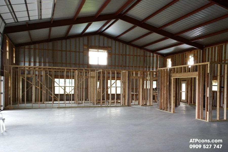 Giải pháp xây nhà thép tiền chế