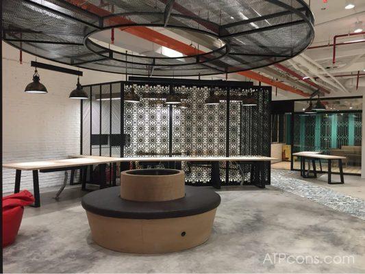 Thiết kế và thi công văn phòng