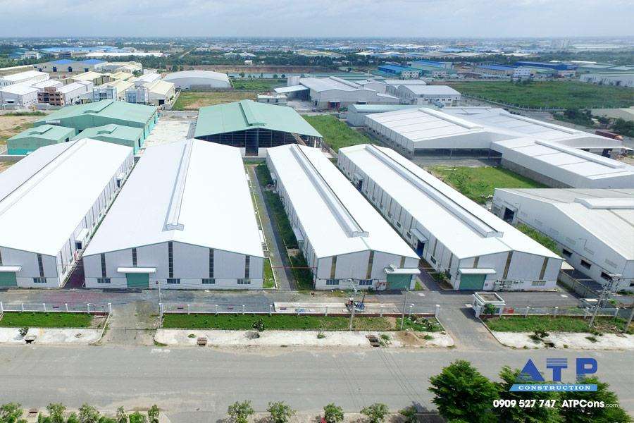 Nhà xưởng khu công nghiệp Long An