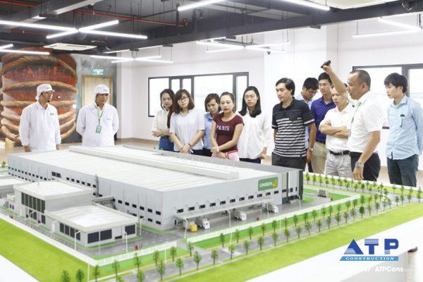 nhà xưởng sản xuất thực phẩm