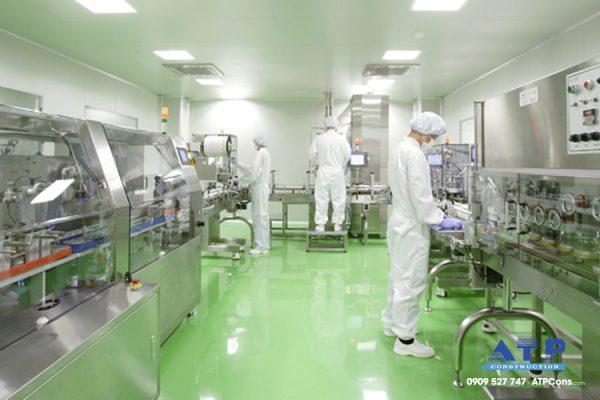 xưởng sản xuất thuốc GMP