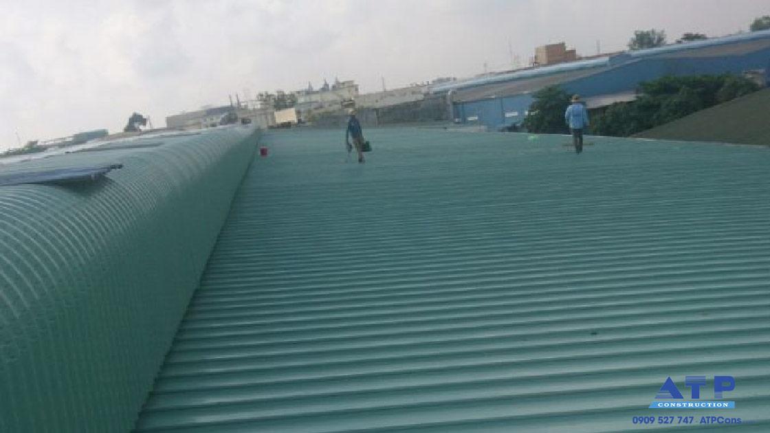 mái tôn nhà xưởng